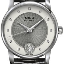 Mido Steel 33mm Automatic M007.207.16.036.01 new