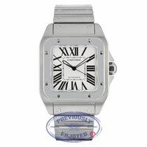 Cartier Santos 100 Large Stainless Steel Bracelet