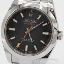 Rolex Milgauss gebraucht 40mm Stahl