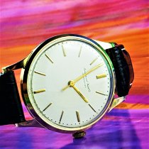 IWC 35mm Handopwind 1964 tweedehands Wit