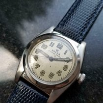 Rolex 32mm Automatic 1946 pre-owned Bubble Back Champagne