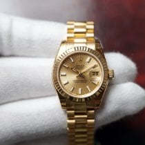 Rolex Lady-Datejust Yellow gold 26mm Champagne No numerals United States of America, Florida, Orlando