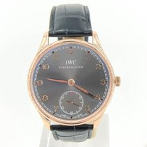 IWC Portuguese Hand-Wound Rose gold 44mm Grey United States of America, Illinois, BUFFALO GROVE