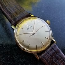 Omega Yellow gold 33mm Manual winding pre-owned