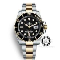 Rolex Submariner Date Gold/Steel 40mm Black No numerals United States of America, New York, NEW YORK