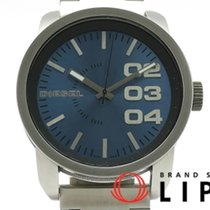 Diesel pre-owned Quartz 46mm Blue