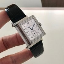 Jaeger-LeCoultre Reverso Duoface Steel 26mm Silver Arabic numerals