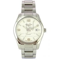 Longines Conquest Classic Steel 40mm Silver