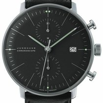 Junghans max bill Chronoscope Steel 40mm Black United States of America, New Jersey, Cherry Hill