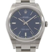 Rolex Oyster Perpetual 39 pre-owned 39mm Blue