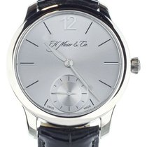 H.Moser & Cie. Endeavour White gold 39mm Silver United States of America, Illinois, BUFFALO GROVE
