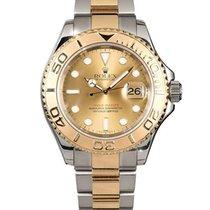 Rolex Yacht-Master 40 Gold/Steel 40mm Champagne No numerals South Africa, Johannesburg