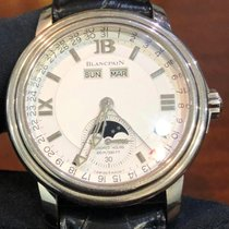 Blancpain Léman Moonphase 2763-1542A-53 pre-owned