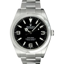 Rolex Explorer 39mm Black