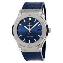 Hublot Classic Fusion Blue Titanium 45mm Blue No numerals United States of America, Pennsylvania, Uniontown
