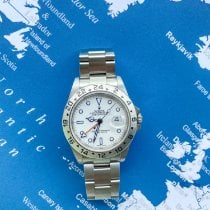 Rolex Explorer II Steel 40mm White No numerals Singapore, Singapore