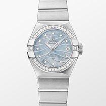 Omega 123.15.27.20.57.001 Steel Constellation Ladies 27mm new
