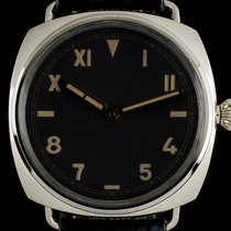 Panerai pre-owned Manual winding 47mm Brown Plastic