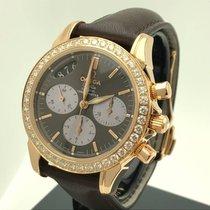Omega De Ville Co-Axial 4677.60.37 Rosegold Diamanten Chrono