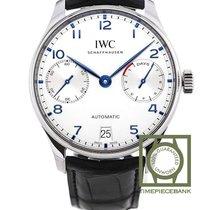 IWC Portuguese Automatic Steel 42.3mm Silver Arabic numerals