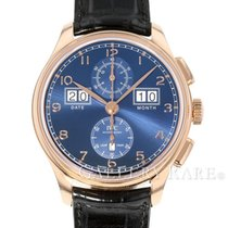 IWC Portuguese Perpetual Calendar Digital Date-Month Red gold 45mm Arabic numerals