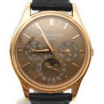 Patek Philippe Perpetual Calendar Rose gold 37.2mmmm Brown No numerals United States of America, California, Beverly Hills