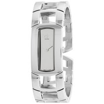 ck Calvin Klein Dress Silver Dial Stainless Steel Ladies Watch...