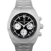 Vacheron Constantin Overseas Chronograph Steel Black United States of America, California, San Mateo