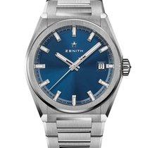 Zenith Titanium Automatic Blue 41mm new Defy