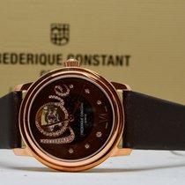 Frederique Constant Ladies Automatic Double Heart Beat nieuw 34mm Goud/Staal