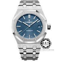 Audemars Piguet 15450ST.OO.1256ST.03 Сталь 2018 Royal Oak Selfwinding 37mm новые