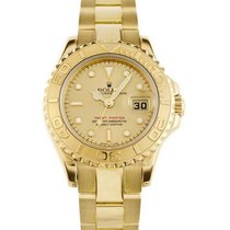 Rolex Yacht-Master Yellow gold 29mm Champagne
