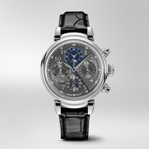 IWC Da Vinci Perpetual Calendar Steel 43mm Grey Arabic numerals United States of America, Florida, Miami