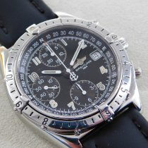 Breitling Chronomat GMT Steel 39mm Black Arabic numerals