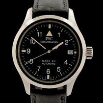 IWC Pilot Mark Steel 36mm Black Arabic numerals