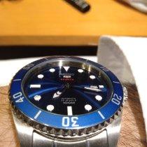Seiko 5 Sports Steel Blue No numerals