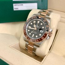 Rolex GMT-Master II Gold/Steel 40mm Black United States of America, Florida, Miami