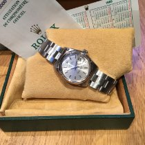 Rolex Oyster Perpetual Date Steel 34mm Silver No numerals United Kingdom, Leicestershire