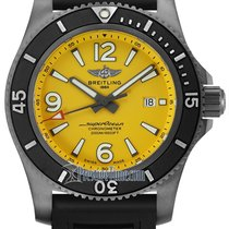 Breitling Superocean Steel 46mm Yellow United States of America, New York, Airmont