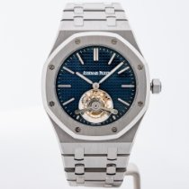 Audemars Piguet Royal Oak Tourbillon Steel 41mm Blue No numerals United States of America, Massachusetts, Boston