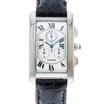 Cartier W2603356 White gold Tank Américaine 27mm pre-owned United States of America, Georgia, Atlanta