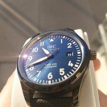 IWC Pilot Mark occasion 41mm Bleu Date Textile