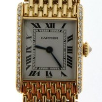 Cartier Tank (submodel) Yellow gold 18.5mm White Roman numerals