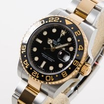 Rolex GMT Master II Stahl / Gold LC EU box and papers