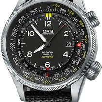 Oris Big Crown ProPilot Altimeter Steel Black United States of America, New York, Brooklyn