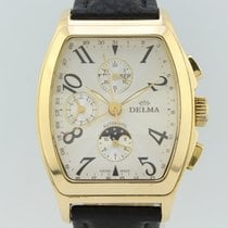 Delma 38mm Automatic pre-owned Grey