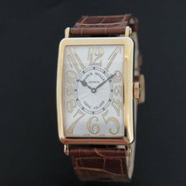 Franck Muller Long Island Relief 18k Rose Gold NEW 1200SC
