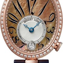 Breguet Reine de Naples Rose gold 28.5mm Mother of pearl United States of America, New York, Airmont