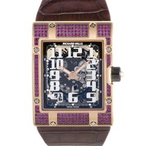 Richard Mille RM 016 Rose Gold Ruby Set Watch