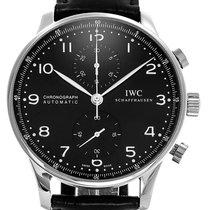 IWC Portuguese Chronograph Ατσάλι 41mm Μαύρο Αραβικοί Ελλάδα, GLYFADA